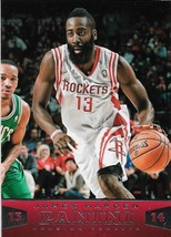 James Harden Panini 13-14 #81 Houston Rockets Oklahoma City Thunder - $0.75