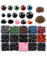 560 Pcs Safety Eyes and Noses with Washers Craft Doll Eyes and Teddy Bea... - $7.99