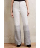 Anthropologie Ombre Flare Trousers Pants by Elevenses $158 - NWT - $46.74