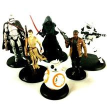 Star Wars Force Awakens Figurine Set Disney Store Captain Phasma Kylo Ren BB-8 - $24.70