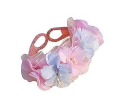 1 Pair Of Colourful Flowers Beach Bracelets Lace Bracelets Jewelry