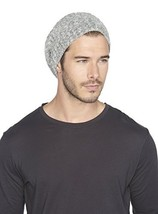 Barefoot Dreams CozyChic Lite Ribbed Beanie Heathered Graphite/Stone - $61.87