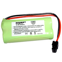 HQRP Phone Battery for Uniden D1361, D1361BK, D1364, D1364BK, D1384-2, D1384-2BK image 1