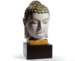 Lladro 01008435 BUDDHA II (GOLDEN AND BLUE) 8435Limited Edition New in o... - $1,350.75