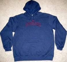 New Nba Adidas Cleveland Cavaliers Hooded Sweatshirt Xl Xlarge Navy - $37.39