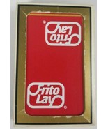 Gemaco Bridge Playing Cards Frito Lay Logo Cardback - $4.99