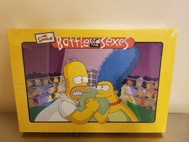 THE SIMPSONS: BATTLE OF THE SEXES Board Game New Special - $11.87