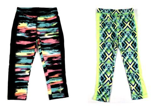 Reebok Toddler Girl's Tights Trendy Styles Licensed NEW