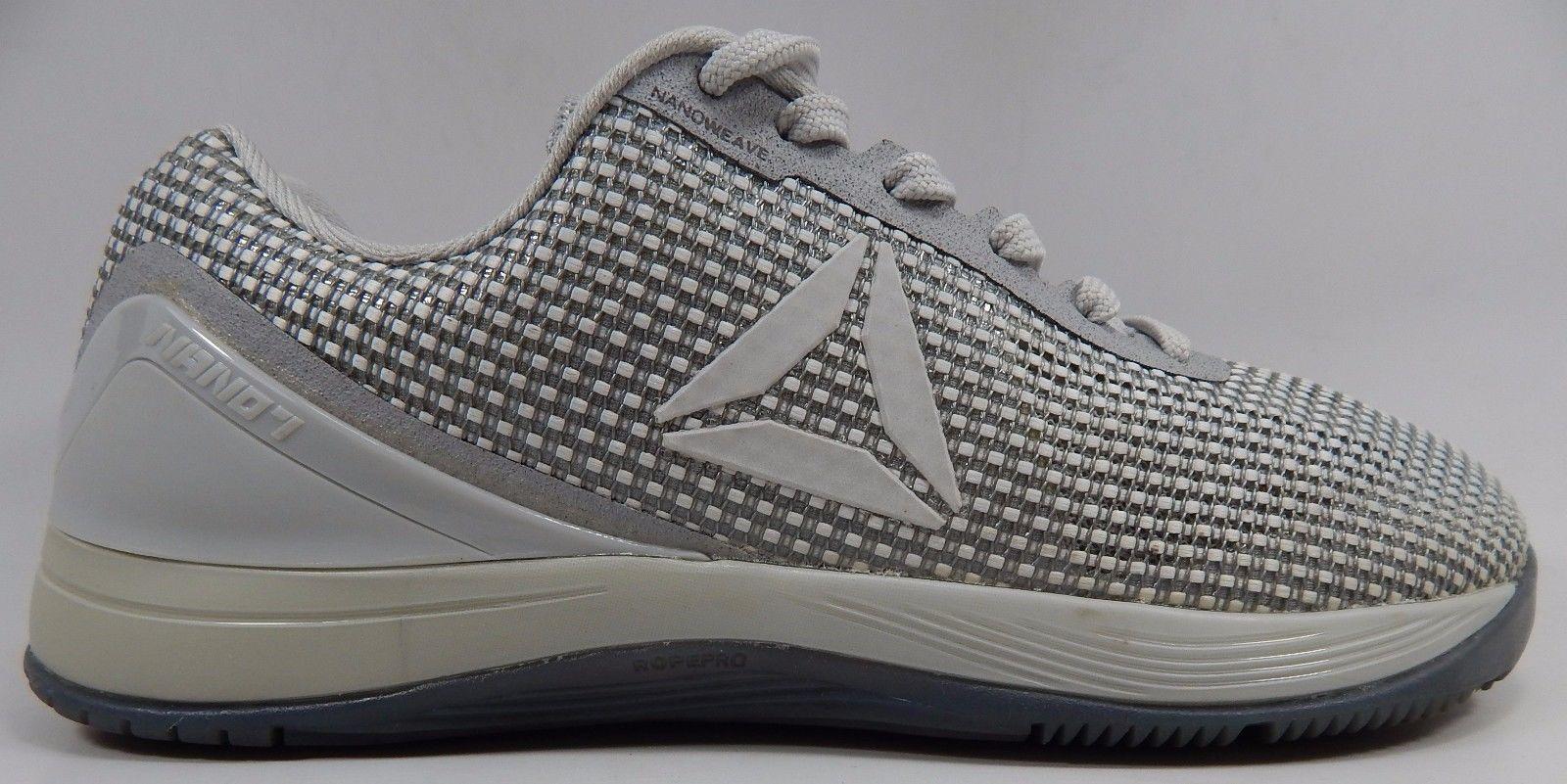 Reebok Crossfit Nano 7.0 Men's Training Shoe Size US 8 M (D) EU 40.5 Skull Grey