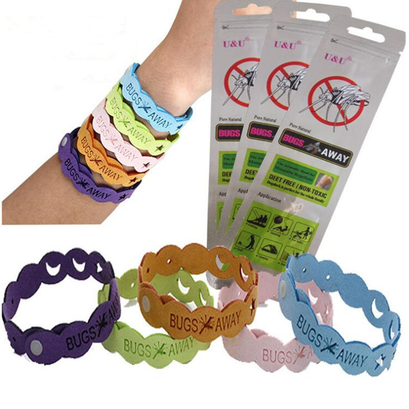 Mosquito Repellent Bracelet 10 Days of Protection Pest Insect Control Wrist Band