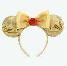 Nuevo Disney Land Tokyo la Bella y la Bestia Diadema Minnie 2020 - $63.65