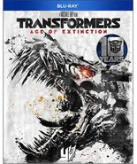 Transformers: Age of Extinction 10 Year Anniversary  [Blu-ray+DVD+Digital]  - $5.00