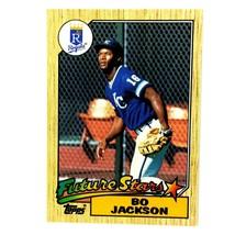 Bo Jackson 1987 Topps Rookie Card #170 Kansas City Royals - $2.92