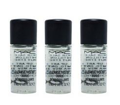 MAC Cleanse Off Oil Mini Bottles - Lot of 3 - $10.98