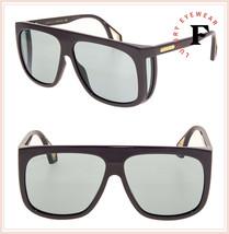 GUCCI 0467 Brown Oversized Green Unisex Blinker Grandpa Sunglasses GG0467S - $289.08