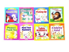 15 Kids Books 6 Book of Manners 4 Stories of Virtue 5 More Childrens Boo... - $23.36