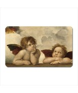 Angels Sistine Chapel Raphael Art Vinyl Fridge Magnet - $6.64