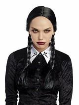 Dreamgirl Doppio Intrecciato Venerdì Adams Adulti Da Halloween Costume Parrucca - $18.83