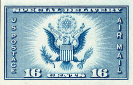1935 16c Special Delivery Imperforate issued without gum Scott 771 Mint ... - $2.98