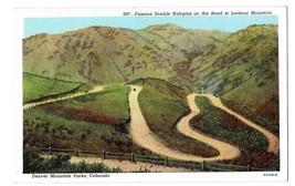CO Denver Mountain Parks Double Hairpin Road Lookout Mouontain Vintage P... - $4.99