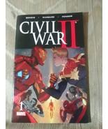 Civil War II Comic Book 1 Marvel Iron Man Captain America Spider Man Cho... - $9.89