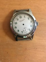 Vintage Waltham Military Wrist Watch Case with face/dial Parts ONLY - $24.99