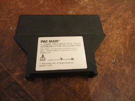 TI 99/4A Pac Man official Atarisoft game cartridge tested arcade classic  - $16.99