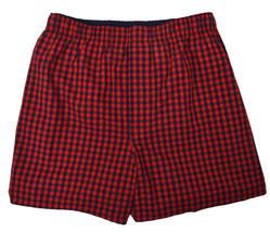 "Gap Mens Red And Blue Gingham Plaid 4"" Boxers 1 Pc Set Sz Large L 8473-3 - $11.57"