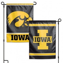 Iowa Hawkeyes Flag 12x18 Garden Style 2 Sided [Free Shipping]**Free Shipping** - $19.80