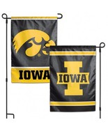 Iowa Hawkeyes Flag 12x18 Garden Style 2 Sided [Free Shipping]**Free Ship... - $19.80