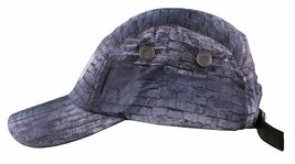 Flat Fitty Eastern Front Camp Five Panel Leather Strap Back Hat NWT image 4