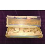 Vintage Playskool skaneateles Wooden Train Trestle Tunnel Track - $10.50