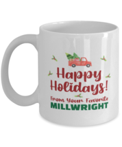 Christmas Mug From Millwright - Happy Holidays 2 From Your Favorite - 11... - $14.95