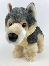 "Aurora Plush Husky Dog Wolf Stuffed Animal 2015 Plush Soft Cute 11"" Tall - $19.79"