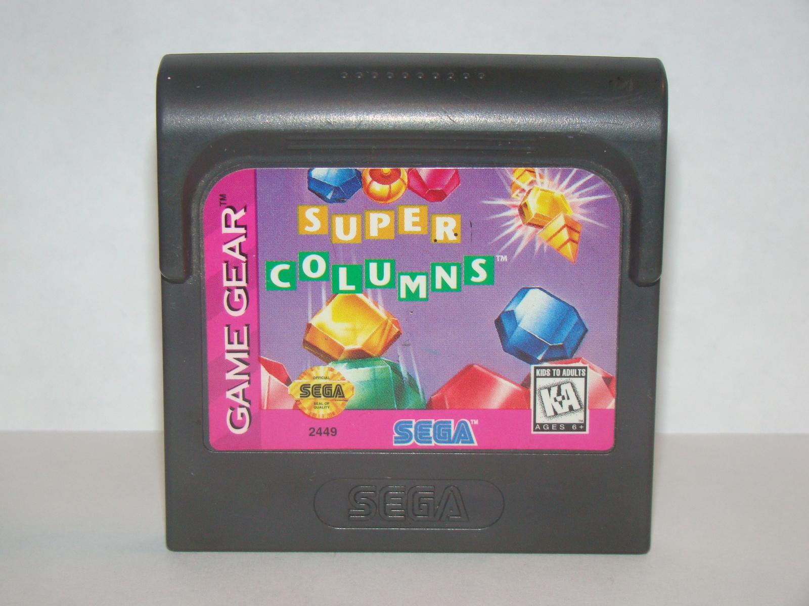 SEGA GAME GEAR - SUPER COLUMNS (Game Only)
