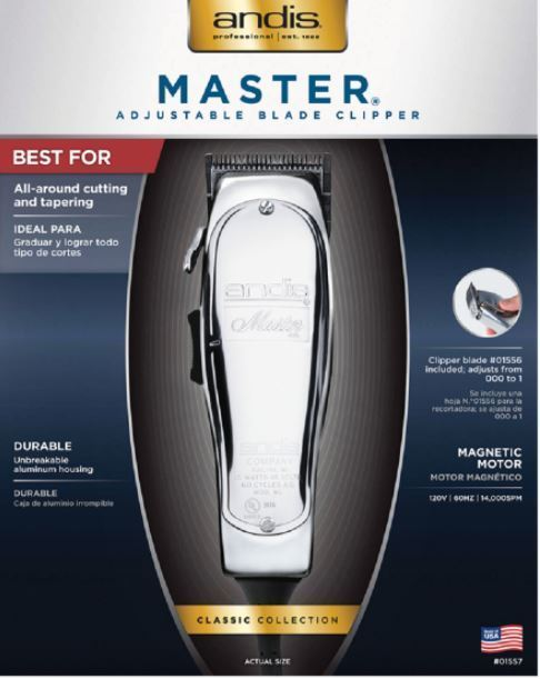 Primary image for Andis Master Adjustable Blade Clipper #AN01557