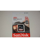 SanDisk Ultra SDHC UHS-I 32 GB Class 10 Flash 48MB/s Memory Card New Ret... - $13.11