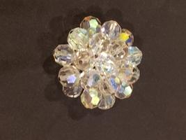 Vintage Aurora Borealis Brooch Pin - $18.00