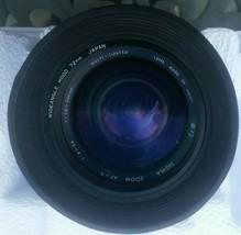 Sigma AF-7 Zoom 1:4-5.6 f2.8 Minolta A Mt. Lens Camera Zoom Lens Apple Mountable - $77.22