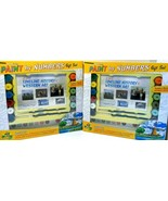 Paint by Numbers Gift Set Timeline of Western Art by Mud Puddle Lot of 2 sets! - $19.33
