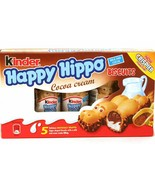 Ferrero KINDER Happy Hippo CACAO BISCUITS Hippo 103g FREE SHIPPING - $8.46