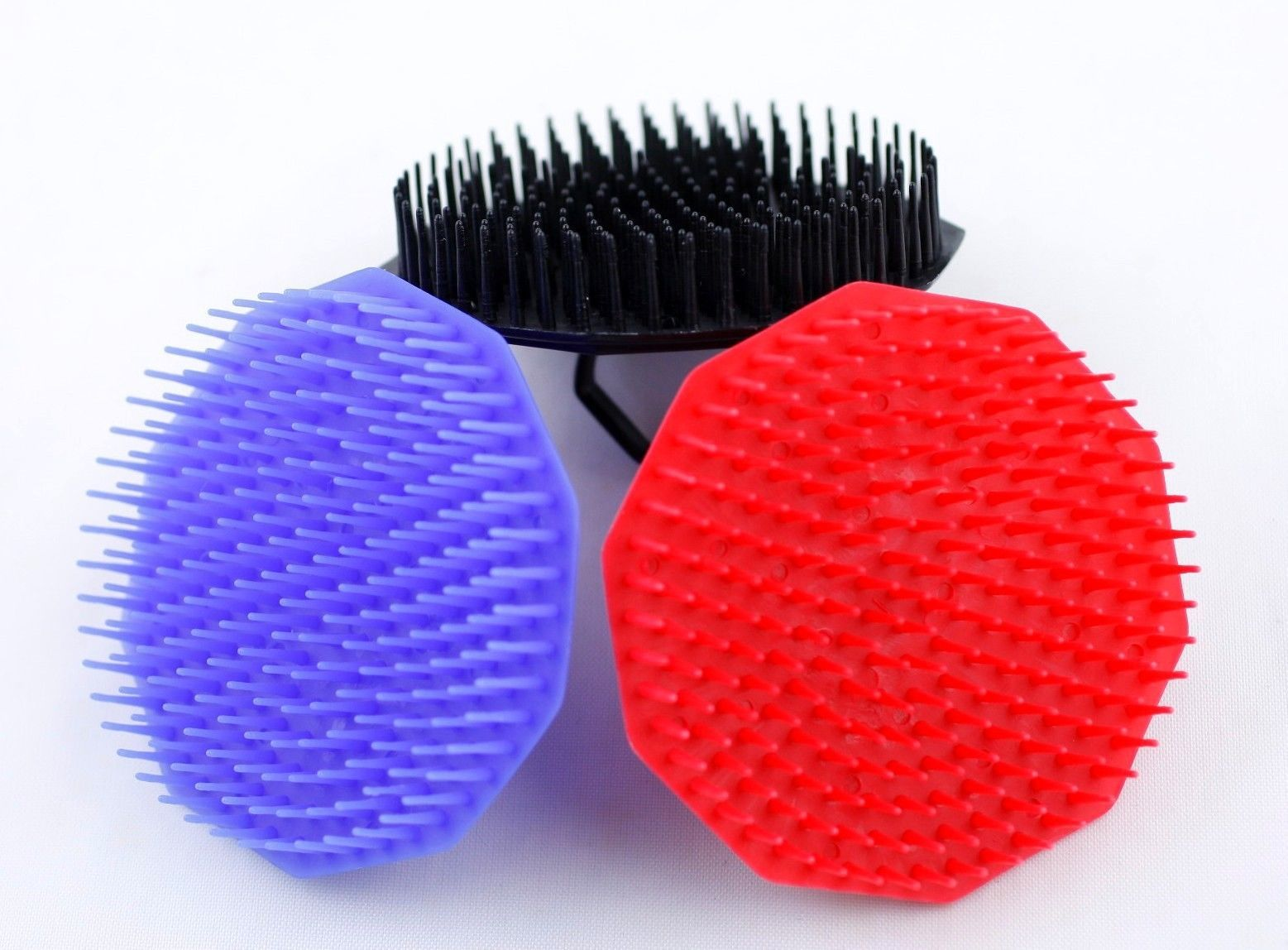 Primary image for 1 Piece Hair Shampoo Scalp/Body Massage Brush Comb Massage/Brush with a Handle
