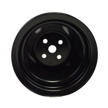 Short Water Pump Pulley SWP Double-Groove For Small Block Chevy SBC 262 327 400 image 4