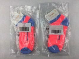 NWT Lot Of 2 Pairs Girls GYMBOREE Gymgo Ankle Socks Shoe Size 13 - 2 Medium New - $9.89