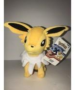 "Pokemon Jolteon XY Tomy Stuffed Animal 8"" NEW Plush Yellow Nintendo - $38.57"