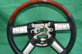 05-07 Chrysler 300 300c Leather Woodgrain Steering Wheel image 2