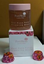 Pureheals Real Rose Petal Sleeping Mask 100g FRESH New In Box - $28.45