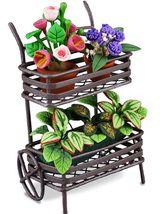 Flower Vender's Cart Reutter 1.817/1 DOLLHOUSE Miniature - $40.84