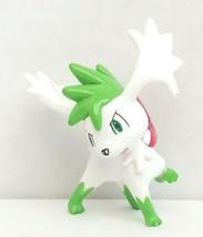Pokemon Sky Shaymin PVC Figure 2in Nintendo TOMY 2008 Used - $23.00