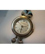 "L62, GENEVA, Ladies Watch, 7.5"" Handmade Beaded Bracelet Band, wb - $13.83"
